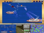 Play this wargame online against other players as you build your own customized fleet of ships in this turn based game
